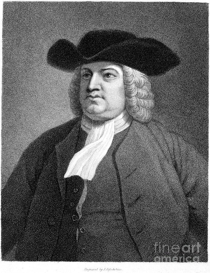 17th Century Photograph - William Penn (1644-1718) by Granger