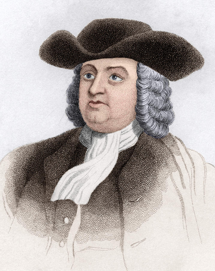 Penn Photograph - William Penn, English Coloniser by Sheila Terry