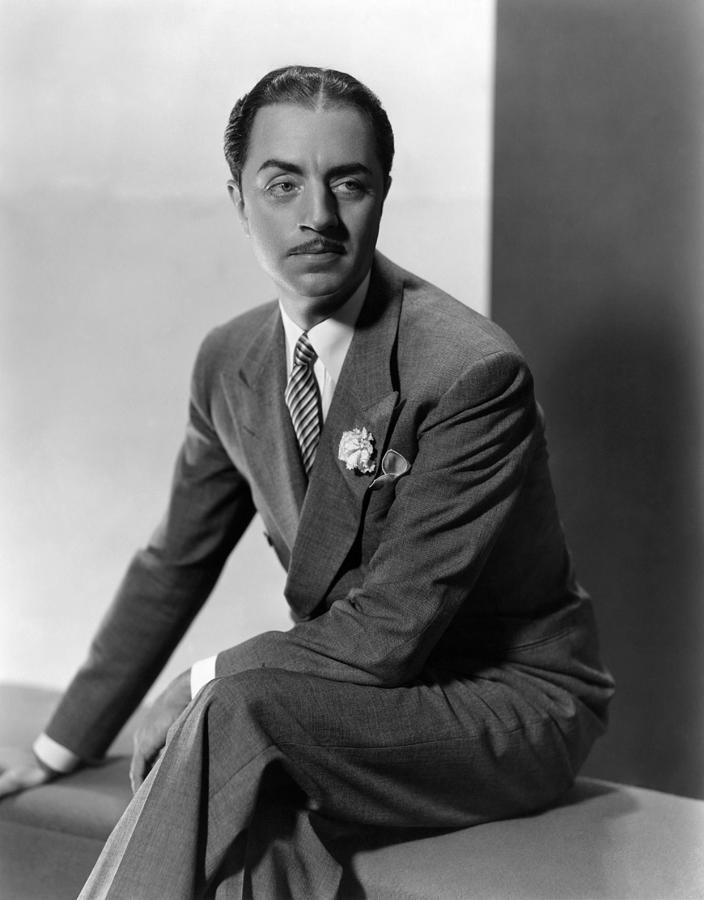 Lapel Photograph - William Powell, Ca. 1930s by Everett