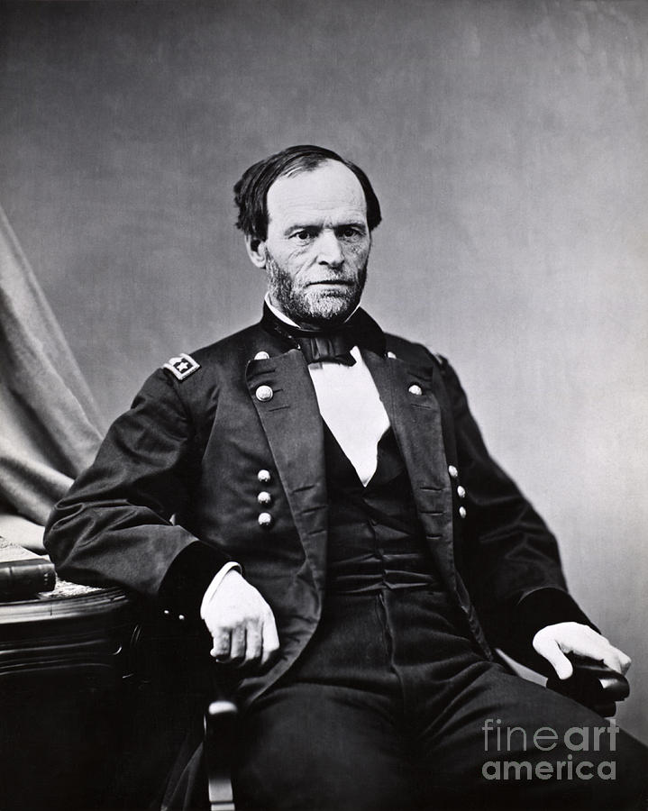 a look at the role and significance of general sherman in the american war Sherman's march the march through georgia and south carolina, lead by general william techumseh sherman, was the turning point in the american civil war.