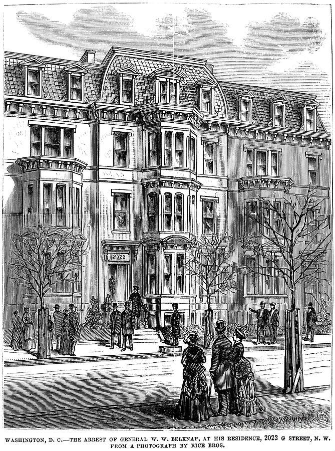 1876 Photograph - William Worth Belknap by Granger