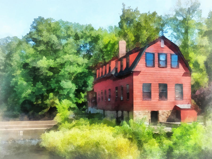 Mill Photograph - Williams-droescher  Mill by Susan Savad