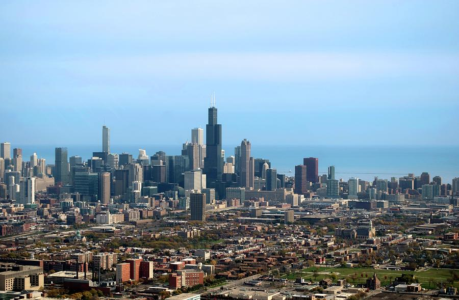 Willis Photograph - Willis Sears Tower 05 Chicago by Thomas Woolworth