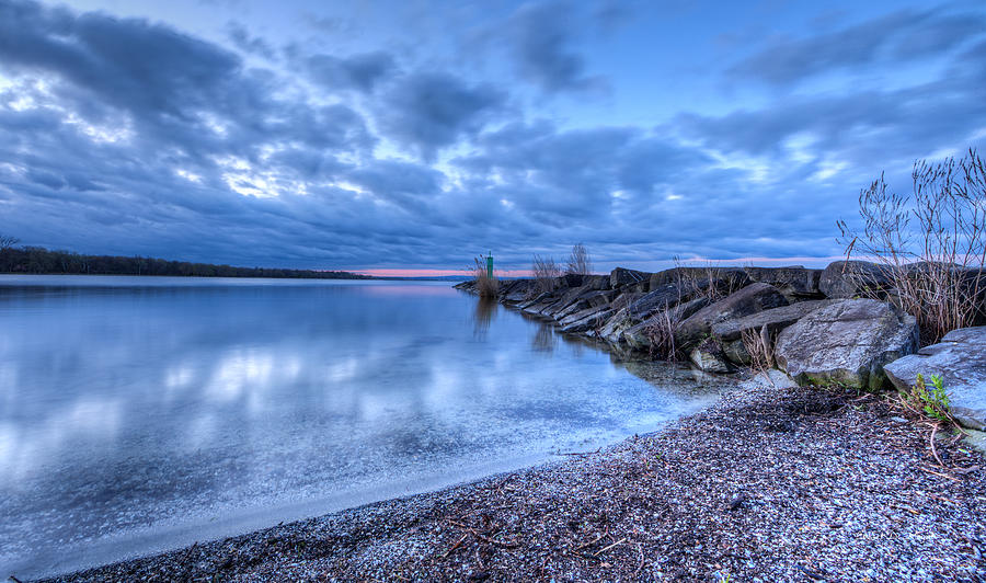 Water Photograph - Willow Bay by Everet Regal