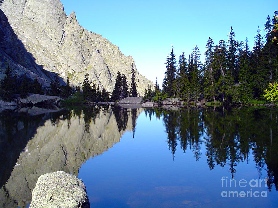 Landscape Photograph - Willow Lake Afternoon by Scotts Scapes