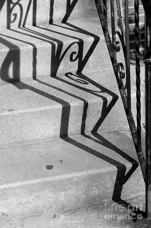 Railing Photograph - Willy Wonkas Warped World by Luke Moore