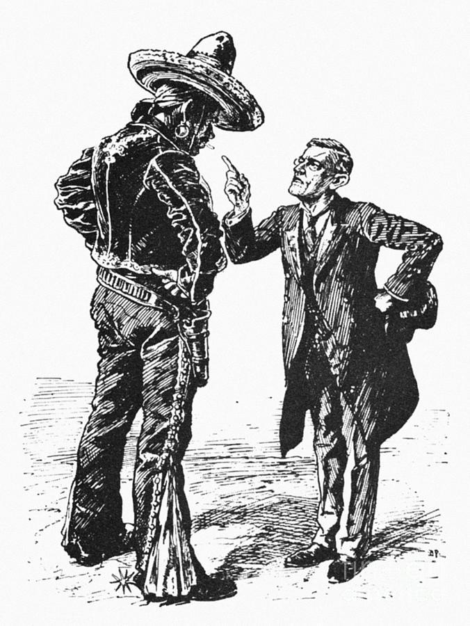 America Photograph - Wilson & Mexico, 1913 by Granger