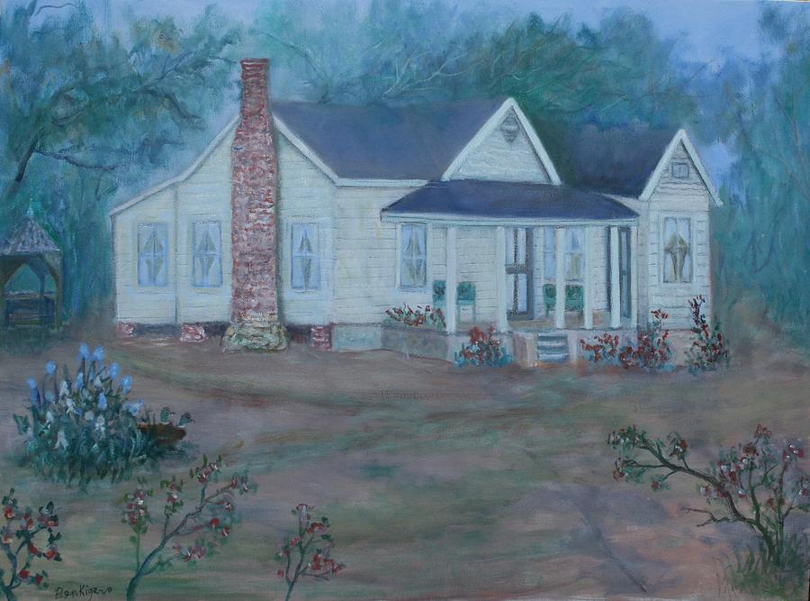 Landscape Painting - Wilson Homestead by Ben Kiger
