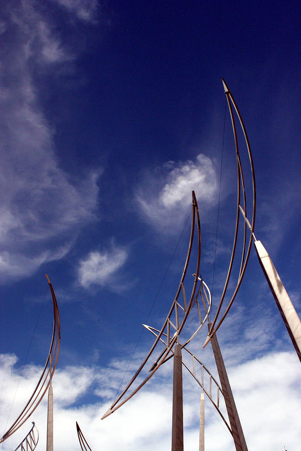 Christchurch Photograph - Wind Bows by Robert  Stephenson