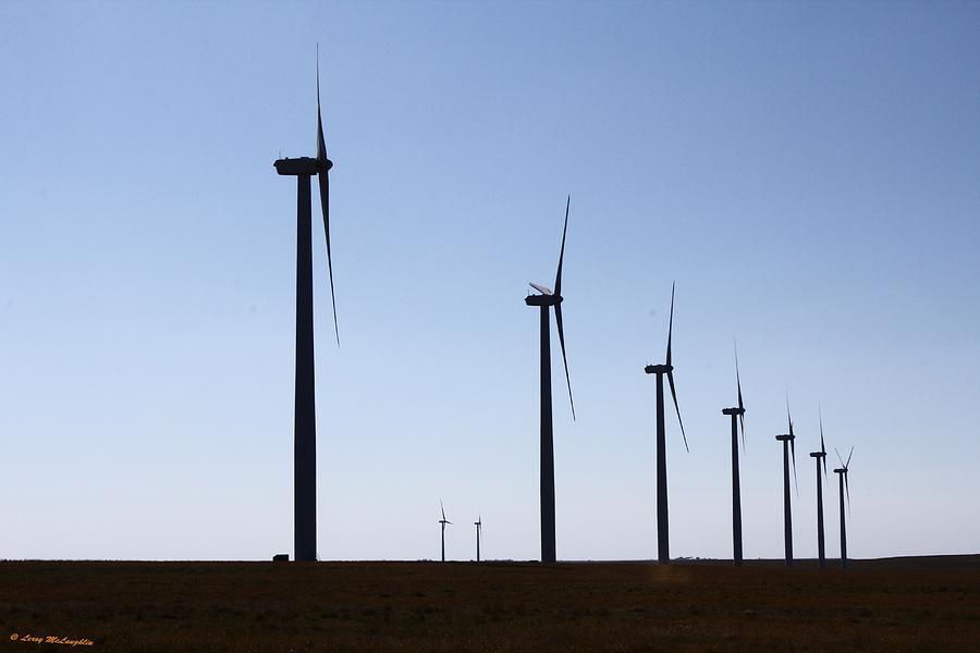 Wind Farm Photograph by Leroy McLaughlin