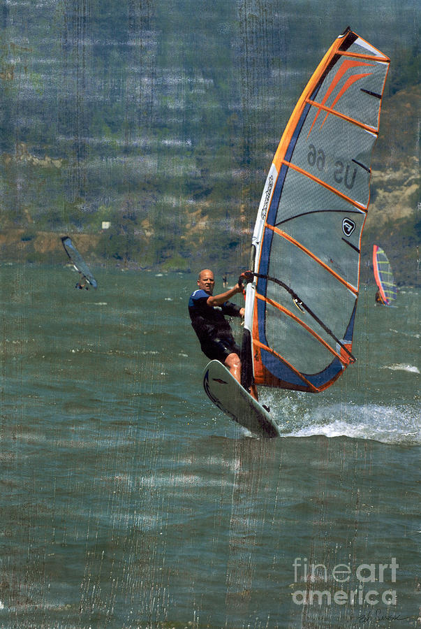 Wind Surfer by Bob Senesac