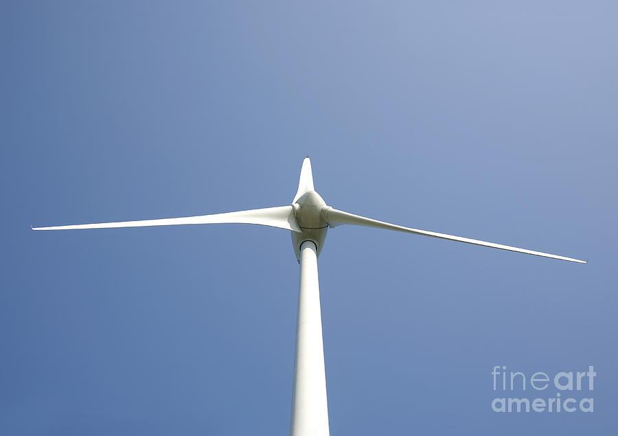 Blades Photograph - Wind Turbine by Jaak Nilson