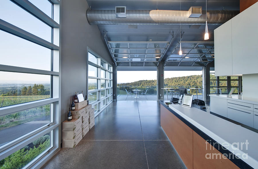 Architecture Photograph - Winderlea Wine Tasting Room by Rob Tilley