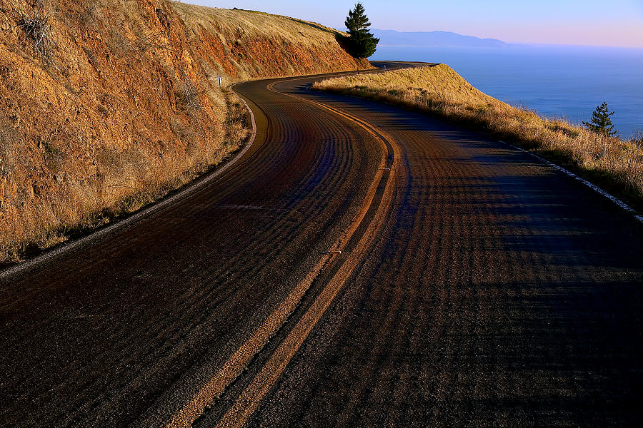 Road Photograph - Winding Road by Garry Gay