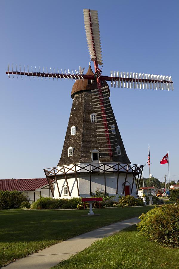Windmill Photograph - Windmill Danish Style 1 A by John Brueske