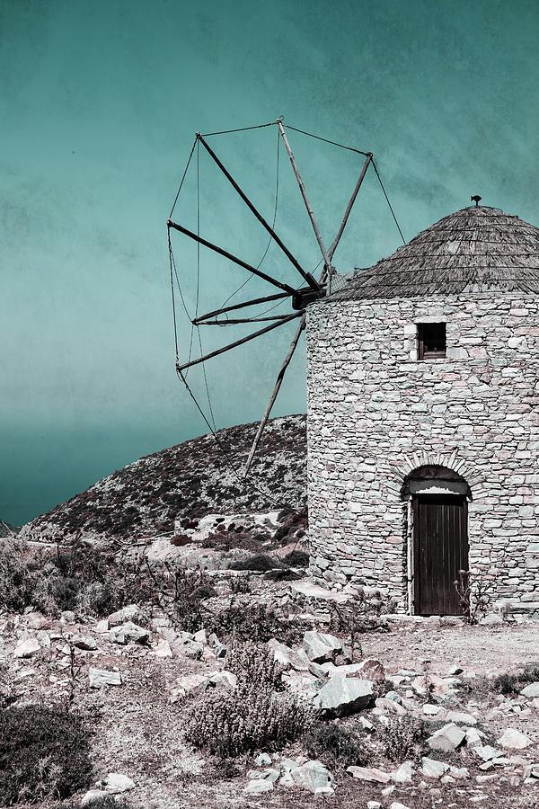 Naxos Photograph - Windmill by Joana Kruse