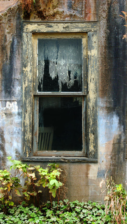 Old Photograph - Window In Old Wall by Jill Battaglia