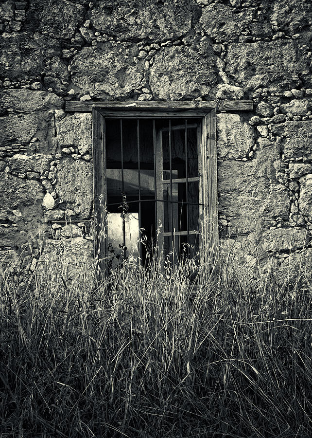 Architecture Photograph - Window Of Memories by Stelios Kleanthous