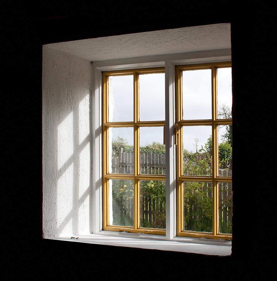 Darkness Photograph - Window  by Semmick Photo