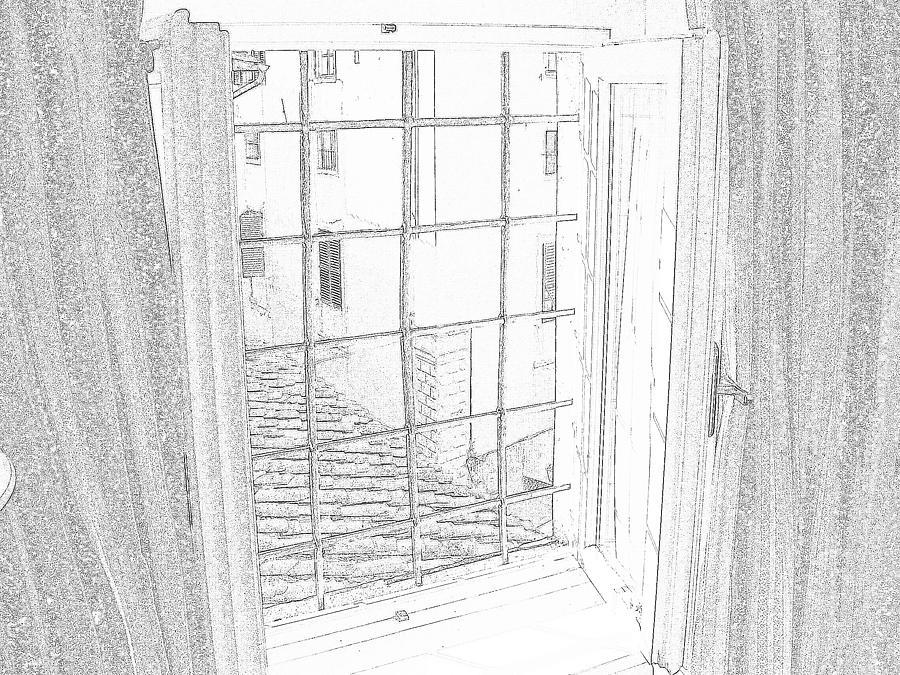 Firenza Photograph - Window To History by Michael Belgeri