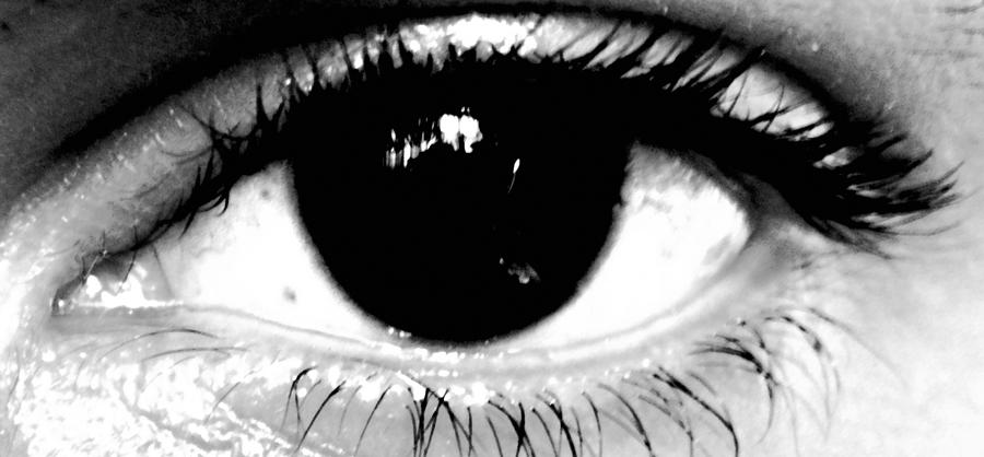 Eyes Photograph - Window To My Soul by Jason Michael Roust