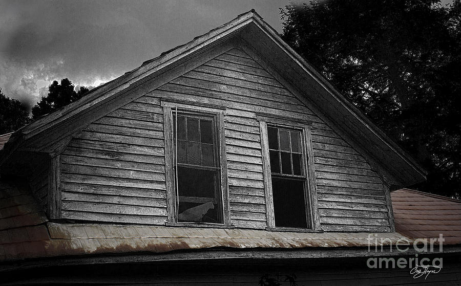 Farm House Photograph - Windows In The Soul by Cris Hayes