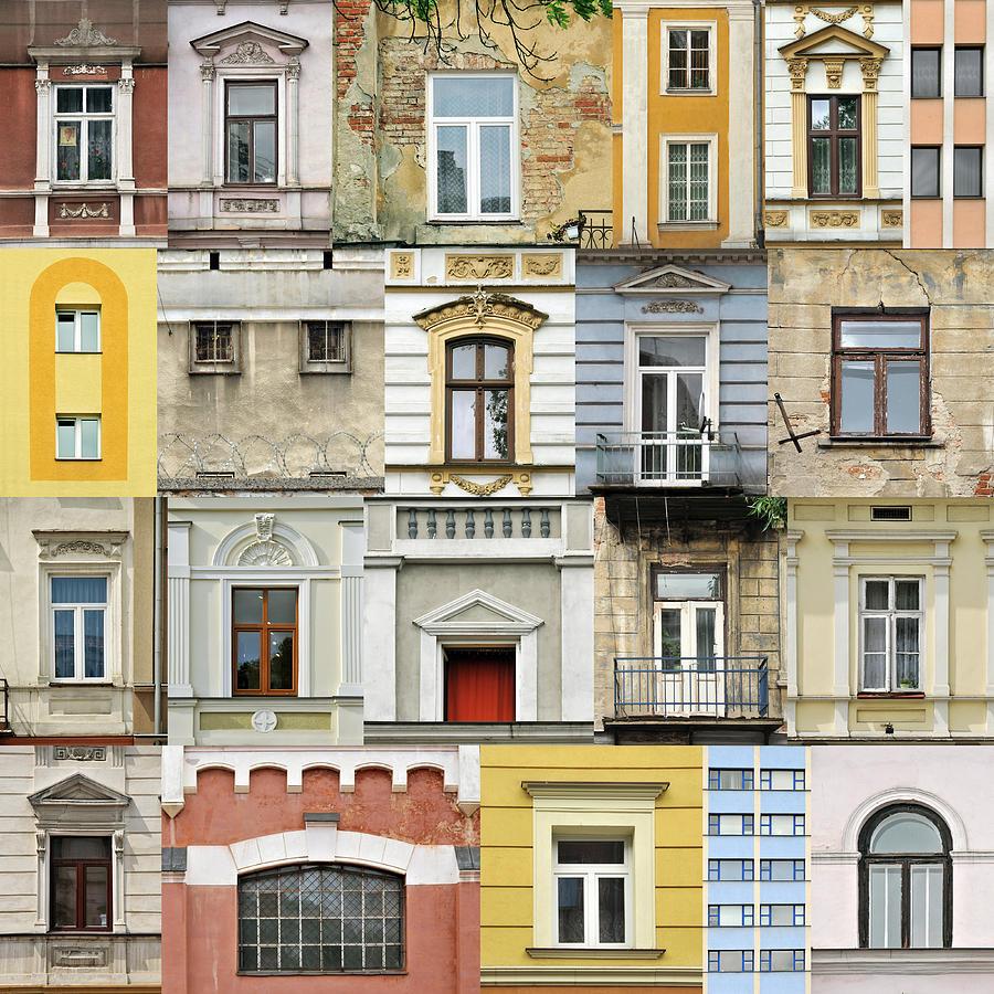 Abstract Photograph - Windows by Jaroslaw Grudzinski