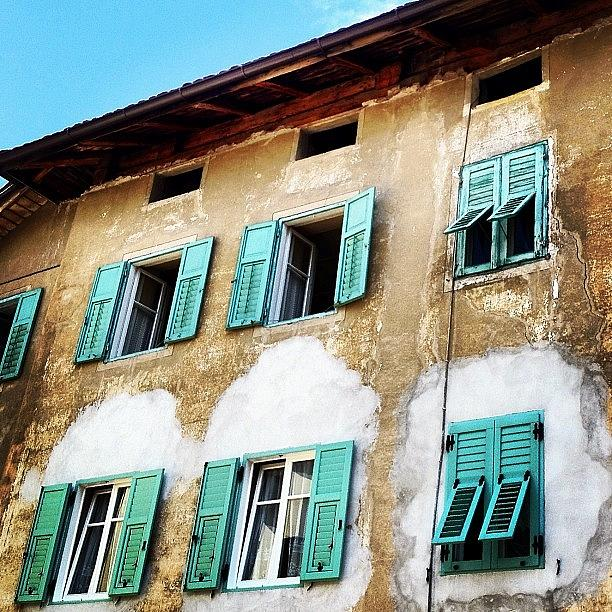 Outdoor Photograph - Windows by Luisa Azzolini