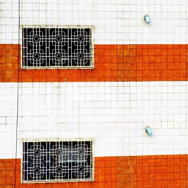 Wall Photograph - Windows Of Opportunity #windows #two by A Rey