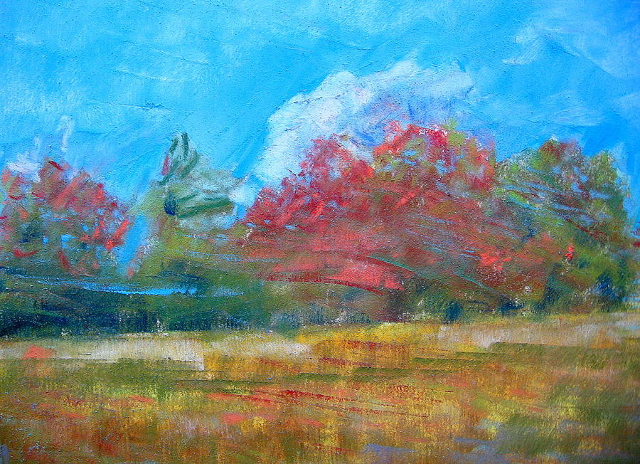 Windy Day Pastel by Lisa Dionne
