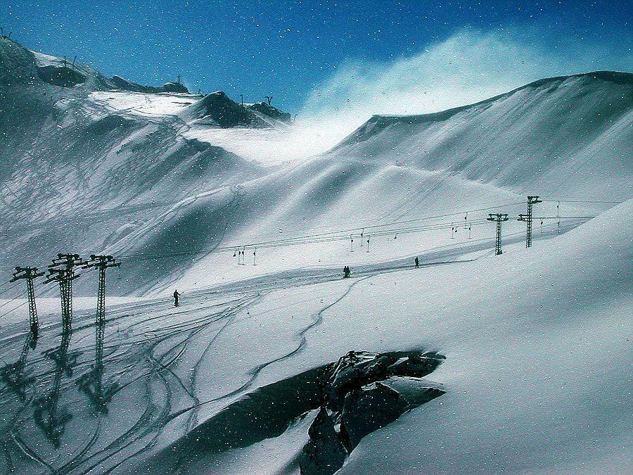 Colette Photograph - Winter In Austria by Colette V Hera  Guggenheim