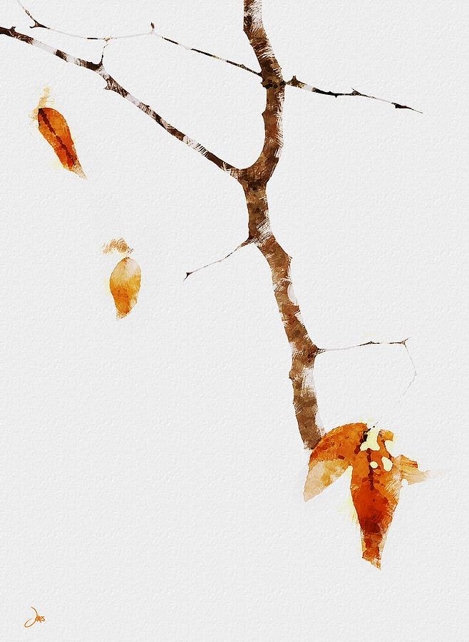 Ron Jones Digital Art - Winter Interludes by Ron Jones