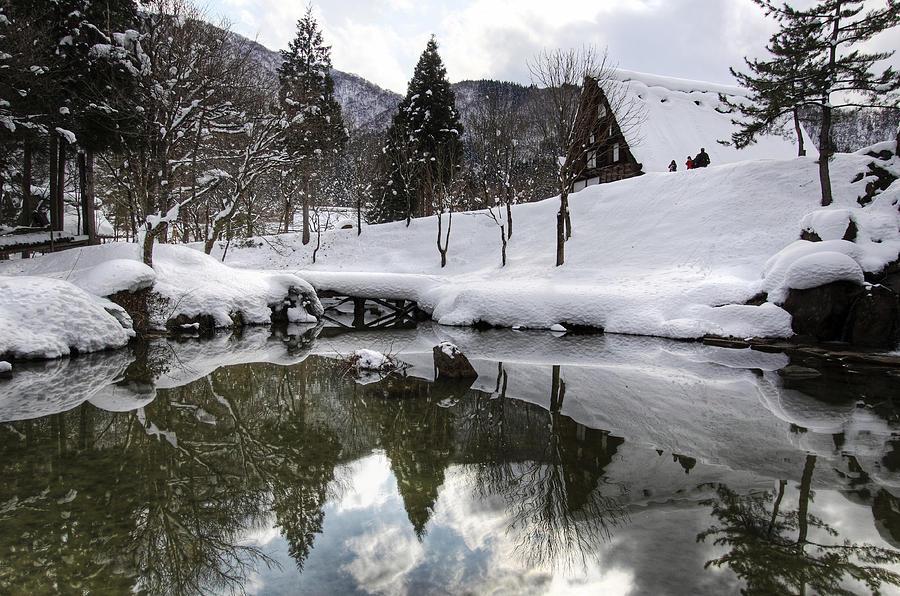 Snow Photograph - Winter by Kean Poh Chua