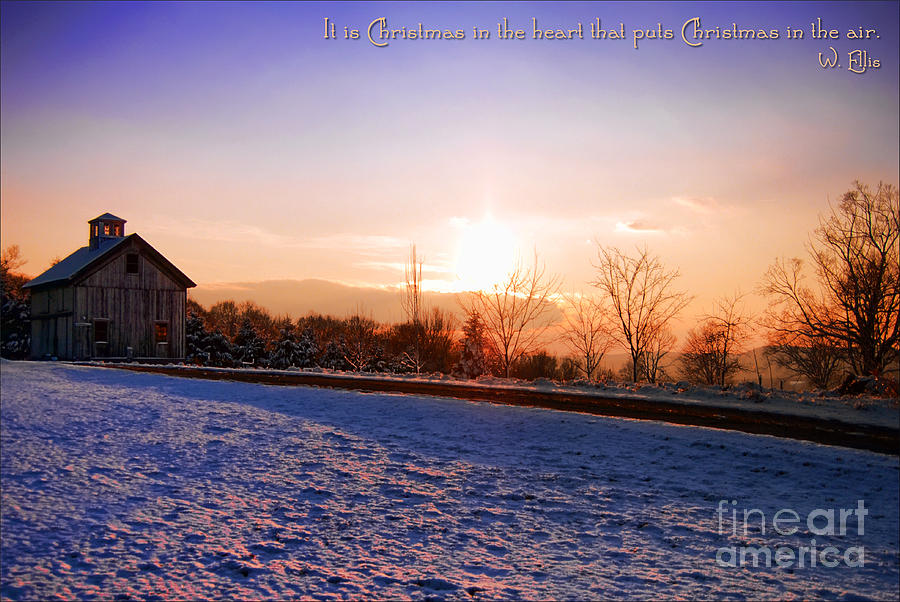 Winter Photograph - Winter Landscape Connecticut Usa by Sabine Jacobs
