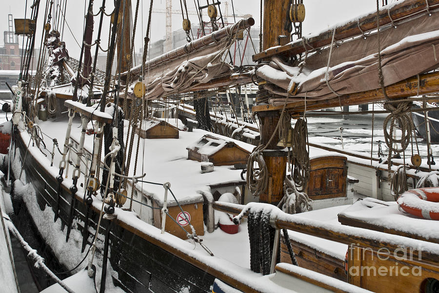 Europe Photograph - Winter On Deck by Heiko Koehrer-Wagner