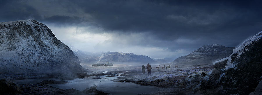 Winter Painting - Winter by Philip Straub