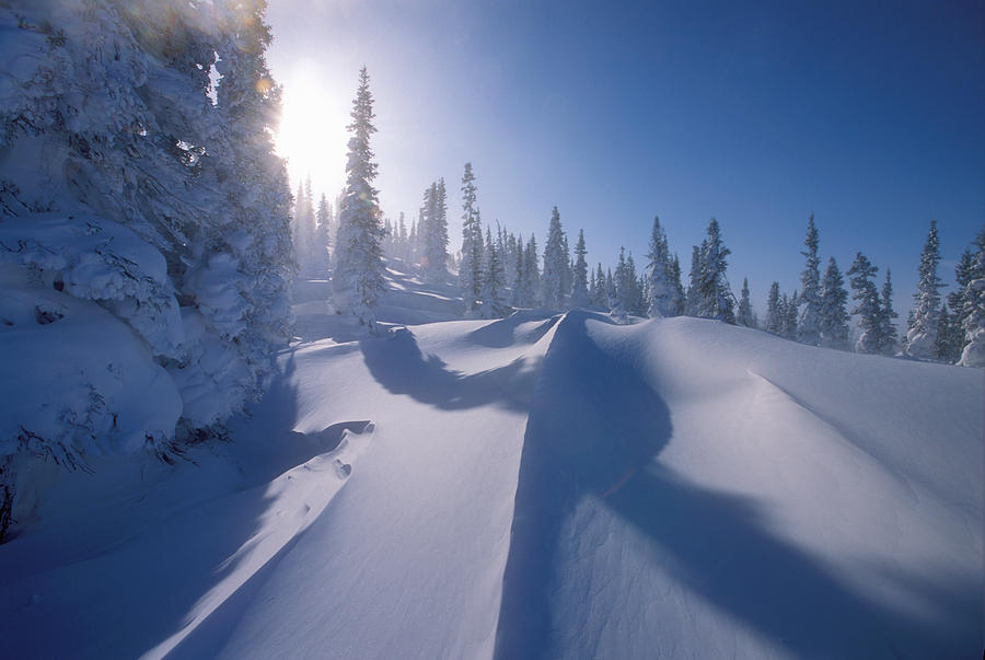 Winter Scene Labrador Newfoundland Photograph By Jerry