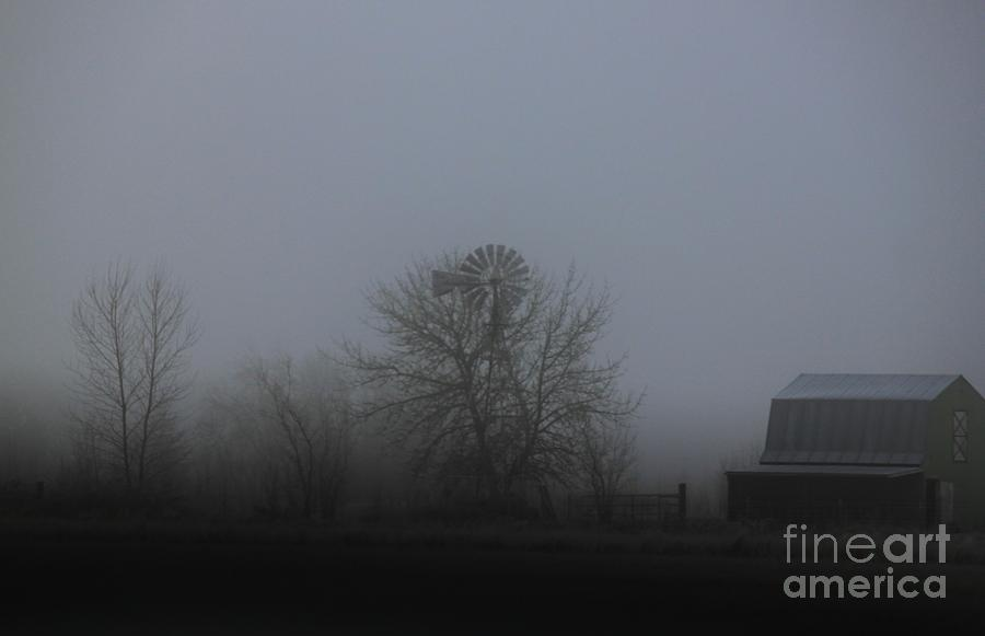 Windmill Photograph - Winter Windmill by Erica Hanel