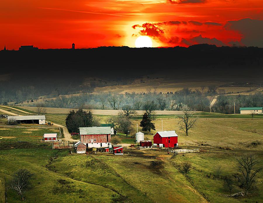 Wisconsin Farm Photograph by Randall Branham