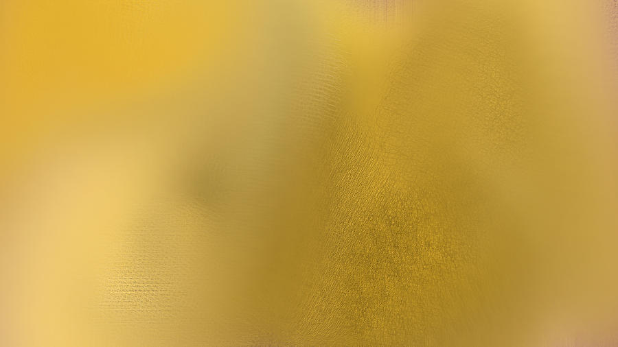 Wise Digital Art - Wise Golden Yellow by Rosana Ortiz
