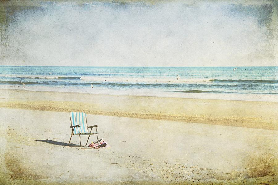 Beach Photograph - Wish You Were Here by Christine Annas