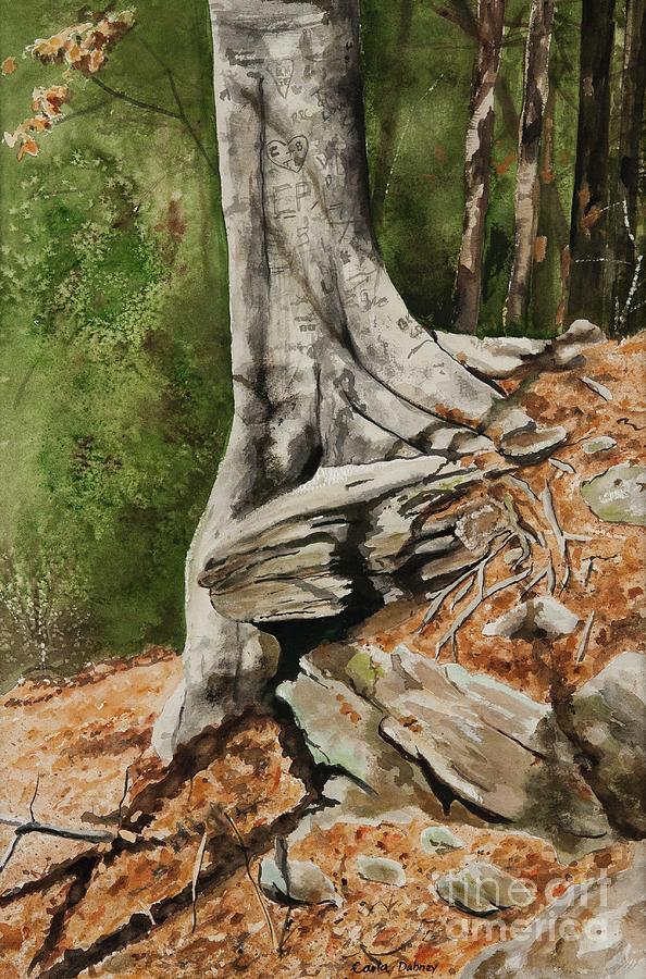 Tree Painting - Wishing Tree by Carla Dabney