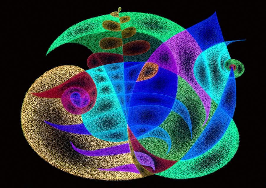 wishing tree inverted colors painting by tatyana zverinskaya