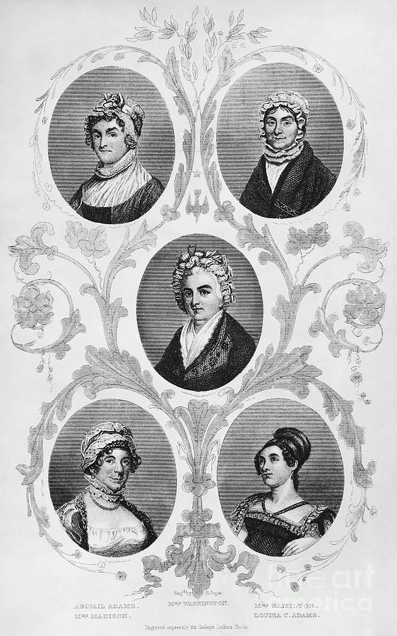 1700s Photograph - Wives Of Founding Fathers by Granger