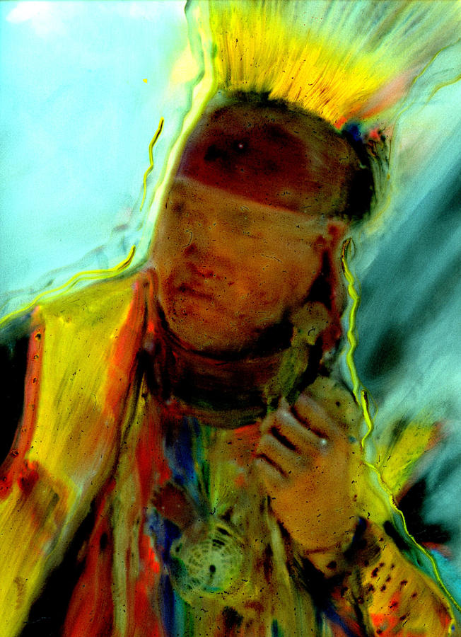 Wokini..seeking A New Beginning Painting by FeatherStone Studio Julie A Miller