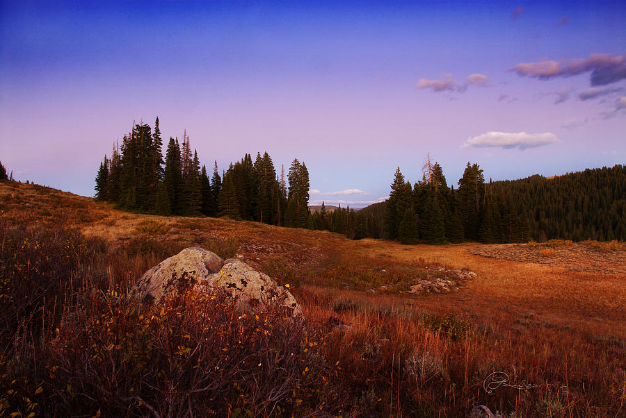 Landscapes Photograph - Wolf Creek Twighlight by La Rae  Roberts
