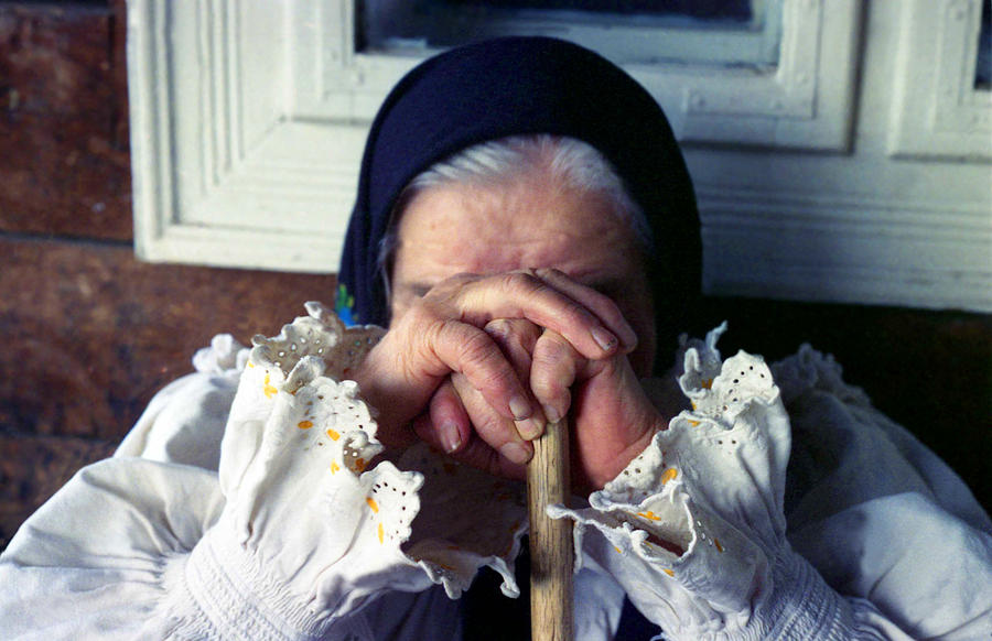 Anonymity Photograph - Woman From Maramures Romania by Emanuel Tanjala