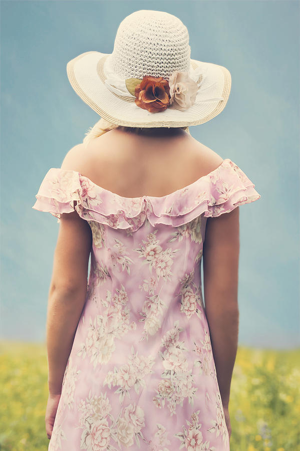 Female Photograph - Woman With Hat by Joana Kruse