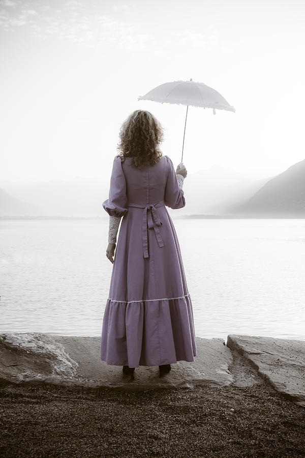 Woman Photograph - Woman With Parasol by Joana Kruse