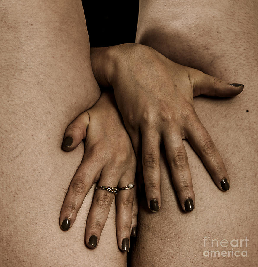 Woman Photograph - Womans Hands by Pierre-jean Grouille